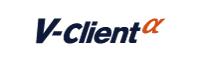 V-Client α ロゴ(カラー)